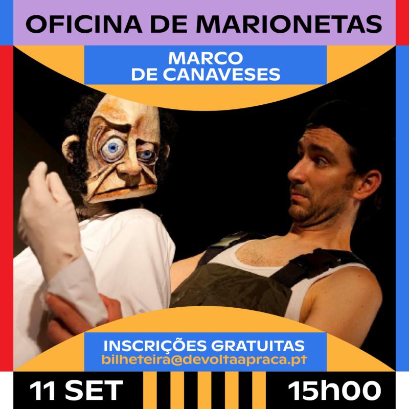Oficina de Marionetas Emergente Centro Cultural Marco de Canaveses